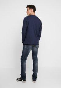 Tommy Jeans - CLASSICS LONGSLEEVE TEE - Langærmede T-shirts - black iris - 2