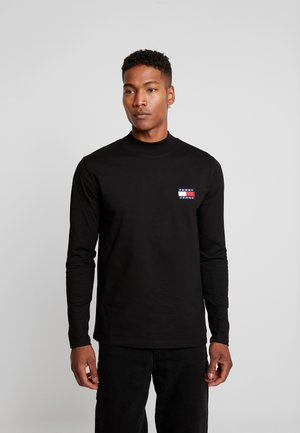 MOCK NECK TEE - Maglietta a manica lunga -  black