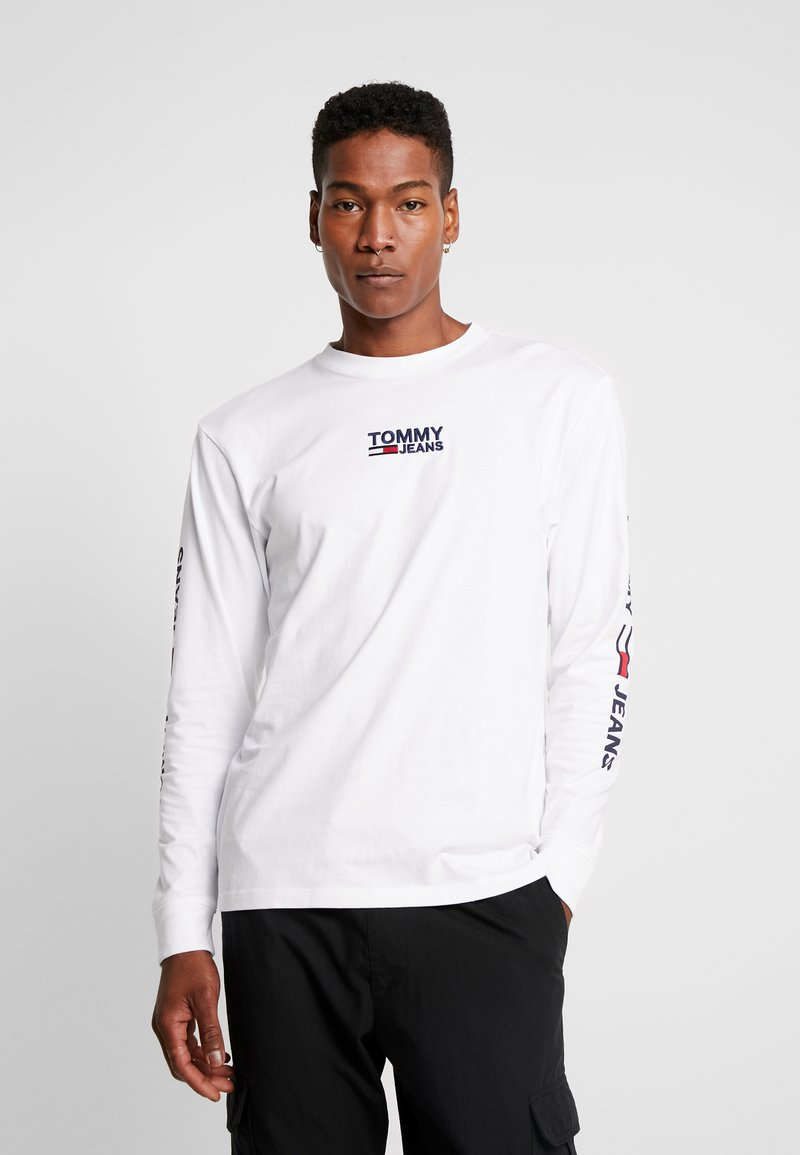 Tommy Jeans - Long sleeved top - classic white