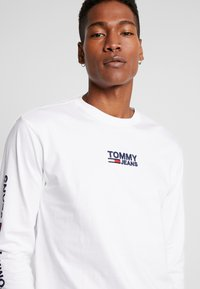Tommy Jeans - Long sleeved top - classic white - 3
