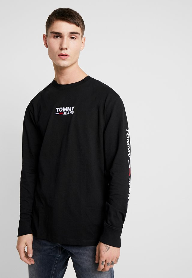 Long sleeved top - tommy black