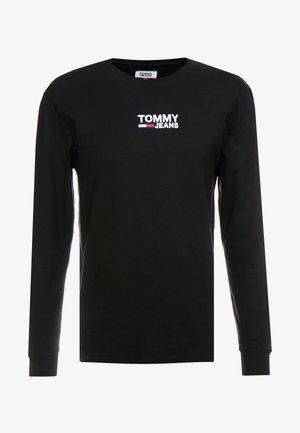 Långärmad tröja - tommy black