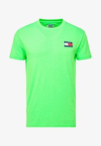 Tommy Jeans - BADGE TEE - T-shirt basic - green geco - 4