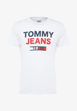 LOGO TEE - T-shirt con stampa - classic white