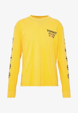 BUBBLED FLAGS LONGSLEEVE  - Langærmede T-shirts - golden glow