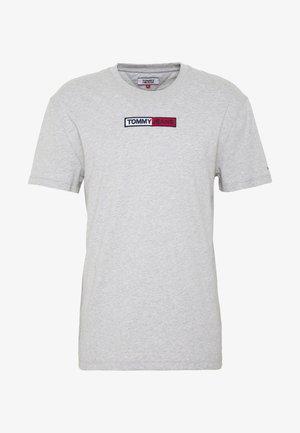 EMBROIDERED LOGO TEE - T-shirt imprimé - grey