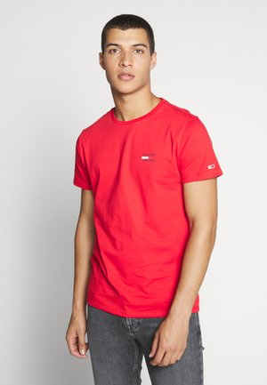 CHEST LOGO TEE - T-shirt basic - racing red