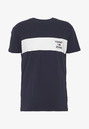 CHEST LOGO TEE - Triko s potiskem - twilight navy