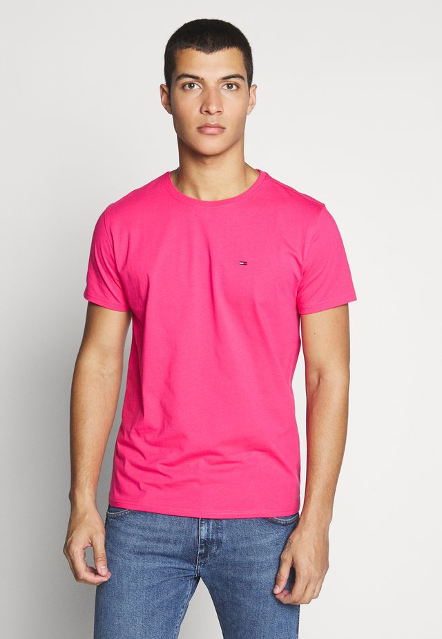 ESSENTIAL SOLID TEE - T-shirts basic - bright cerise pink