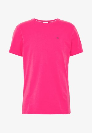 ESSENTIAL SOLID TEE - Basic T-shirt - bright cerise pink