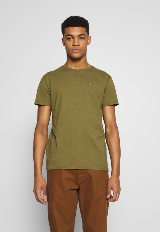ESSENTIAL SOLID TEE - T-shirt basic - uniform olive