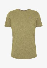 Tommy Jeans - ESSENTIAL JASPE TEE - T-shirts basic - uniform olive - 3