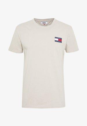 BADGE TEE - T-shirt basic - stone