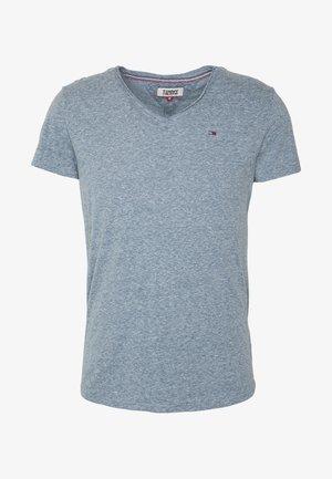VNECK TEE - Basic T-shirt - audacious blue