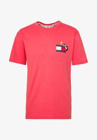 Tommy Jeans - LOONEY TUNES TEE  - T-shirt print - sunset rose - 4