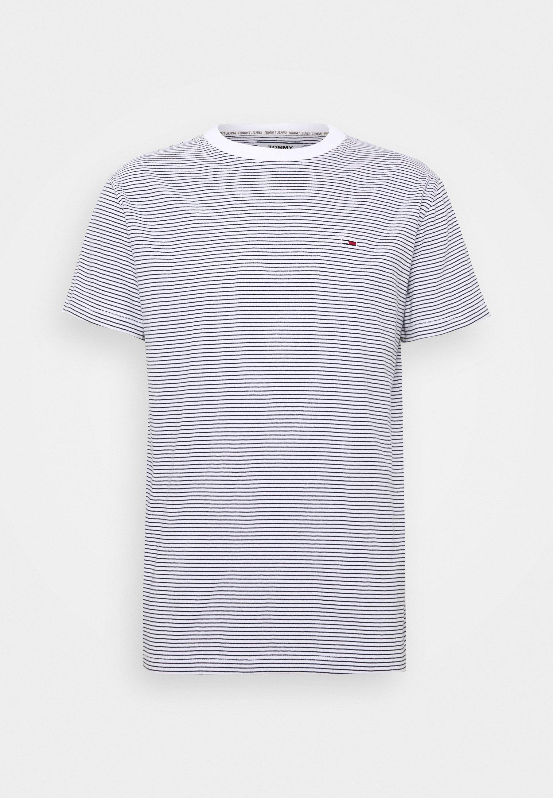 BASIC STRIPE TEE T shirts print whitetwilight navy