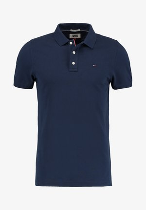 ORIGINAL FINE SLIM FIT - Poloshirt - black iris