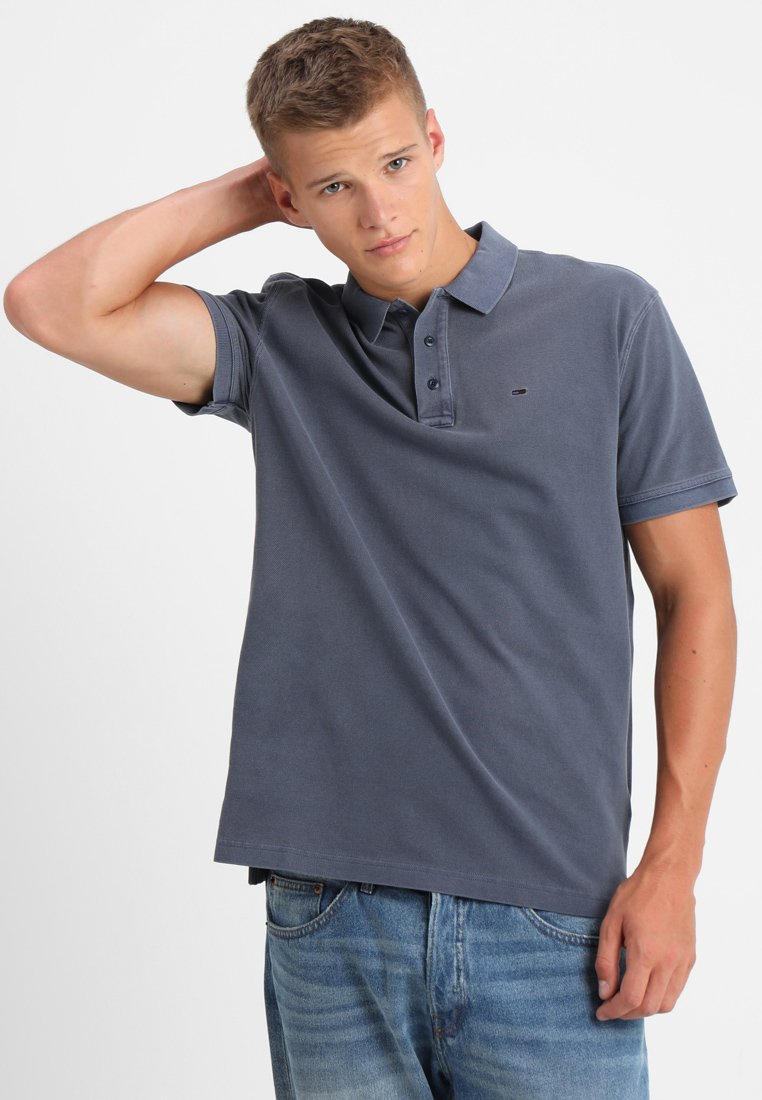 Tommy Jeans - ESSENTIAL GARMENT - Polo - blue