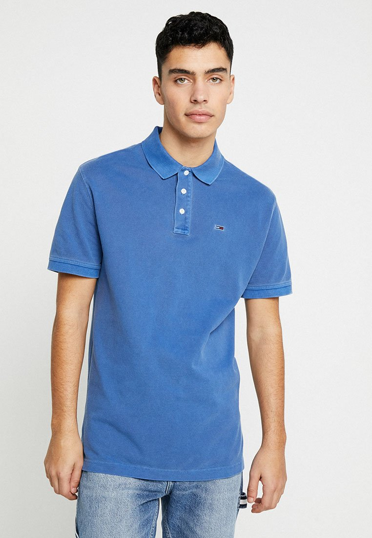 Tommy Jeans - ESSENTIAL GARMENT - Poloshirt - blue