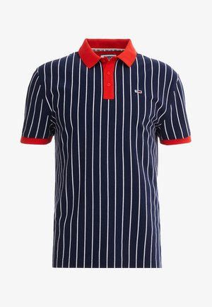 RETRO STRIPE - Polo shirt - blue