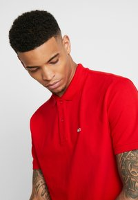 Tommy Jeans - CLASSICS SOLID STRETCH  - Polo - racing red - 3
