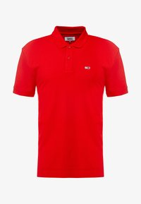 Tommy Jeans - CLASSICS SOLID STRETCH  - Polo - racing red - 4