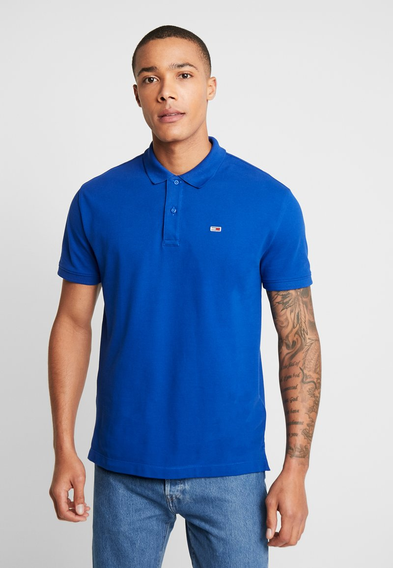 Tommy Jeans - CLASSICS SOLID STRETCH  - Polo shirt - surf the web