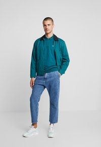 Tommy Jeans - CLASSICS SOLID - Polo shirt - atlantic deep - 1