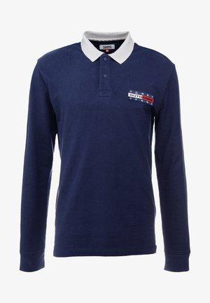 OUTDOOR LONGSLEEVE - Polo shirt - black iris