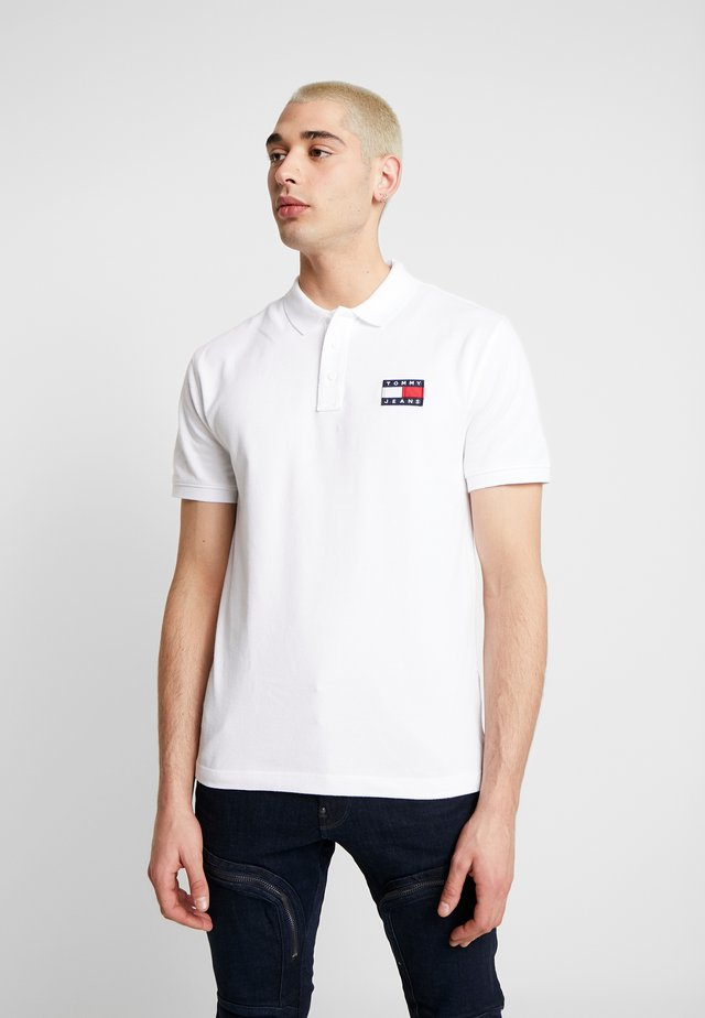 BADGE  - Polo - classic white