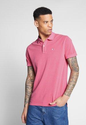 GARMENT DYE - Polo shirt - light cerise pink