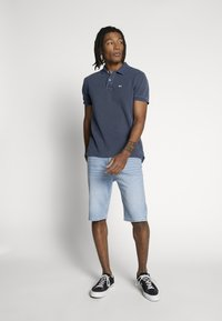 Tommy Jeans - GARMENT DYE - Polo - twilight navy - 1