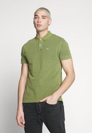 GARMENT DYE - Poloshirts - uniform olive