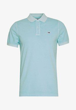 LIGHTWEIGHT - Polo shirt - light chlorine blue