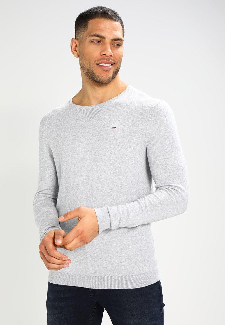 Tommy Jeans - ORIGINAL - Trui - light grey heather