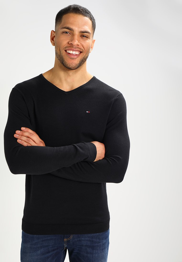 Tommy Jeans - ORIGINAL - Jumper - black