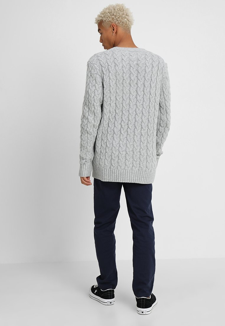Tommy Jeans Tommy Grey CablePullover Tommy CablePullover Grey Jeans Jeans wO0P8nk