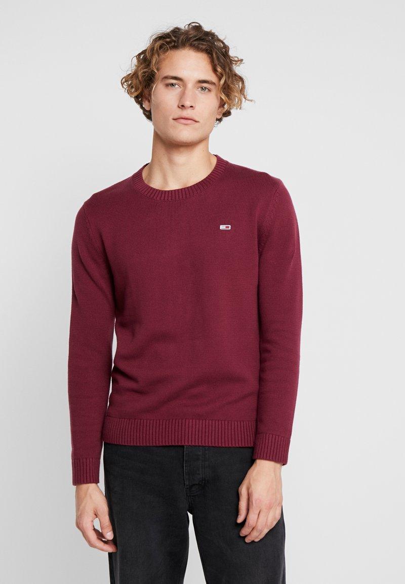 Tommy Jeans - CLASSICS - Stickad tröja - burgundy
