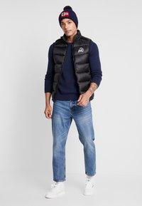 Tommy Jeans - CLASSICS - Stickad tröja - black iris - 1