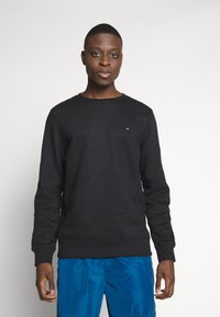 Tommy Jeans - ORIGINAL CREW - Sweatshirt - tommy black - 0