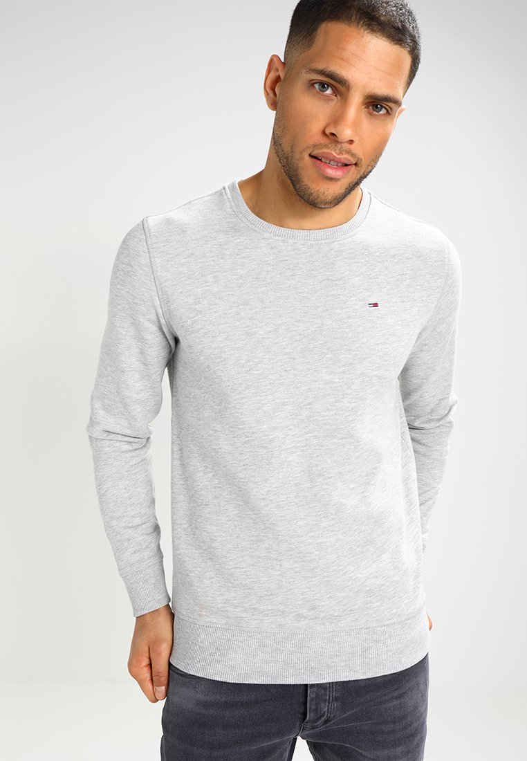 Tommy Jeans - ORIGINAL - Sweatshirt - light grey heather