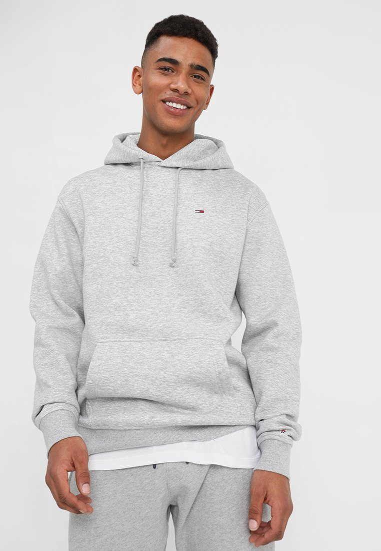 Tommy Jeans - CLASSICS HOODIE - Hættetrøjer - grey