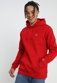 Tommy Jeans - CLASSICS HOODIE - Hoodie - red - 0