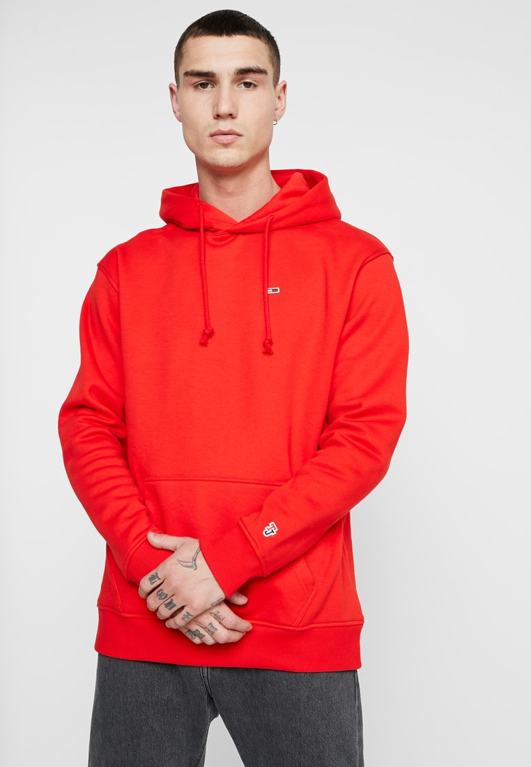 Tommy Jeans - CLASSICS HOODIE - Hoodie - red