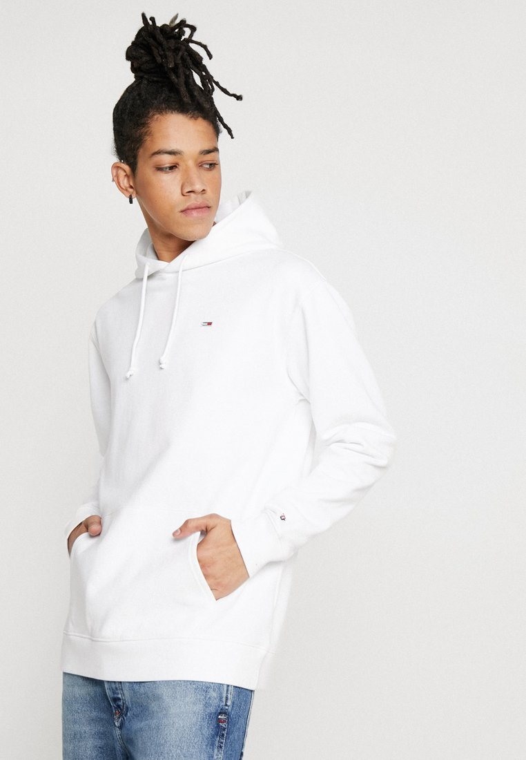 Tommy Jeans - CLASSICS HOODIE - Jersey con capucha - white