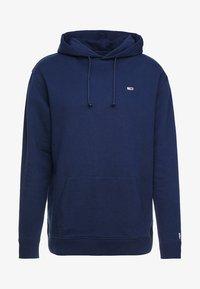Tommy Jeans - CLASSICS HOODIE - Bluza z kapturem - blue - 4