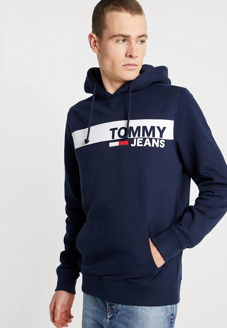 Jeans Graphic Tommy Capuche HoodieSweat Essential Blue À LVGSqzMpjU