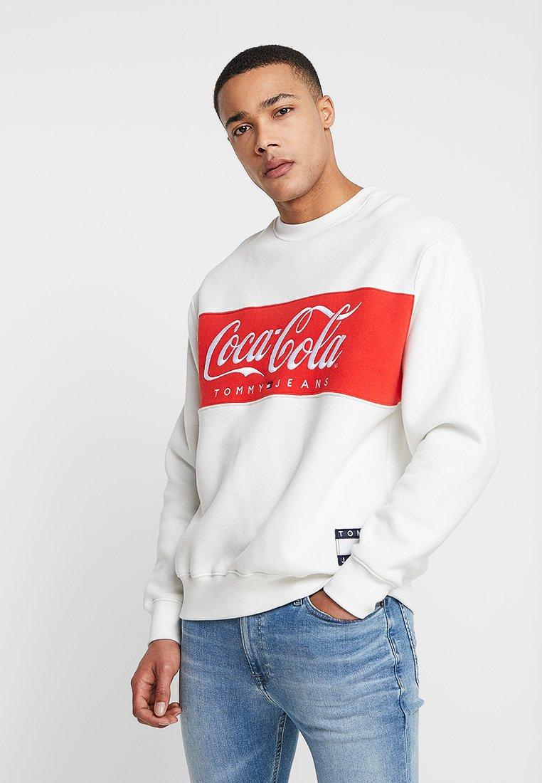 TOMMY X COCA COLA Sweater bright white