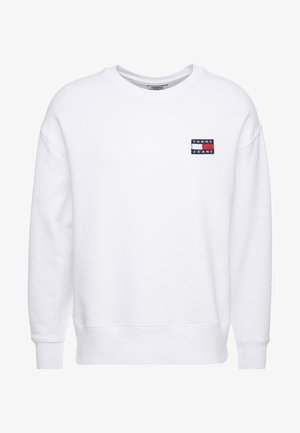 BADGE CREW - Sweatshirt - white