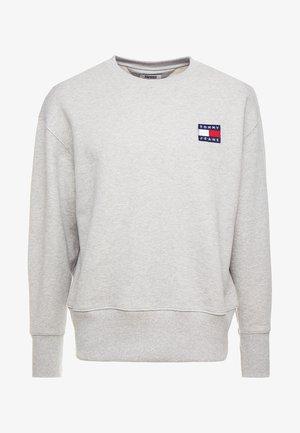 BADGE CREW - Sweatshirt - grey